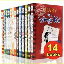 Jeff Kinney - Diary Of A Wimpy Kid 1-14 Books Set Collection (P.D.F)