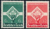 DR 1935, MiNr. 571-572 x, 571-72 x, tadellos postfrisch, Mi. 25,-