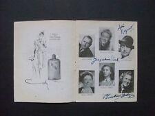 Jacqueline Porel - Gérard Landry - autographe original - théâtre de la Madeleine