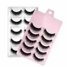 5 Pair Natural Soft Makeup Thick Eyelashes Long Fake Eye False Sale Lashes J7J0