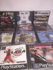Sony Playstatio 1 Games Job Lot #7