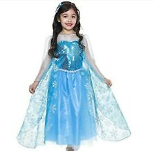 Charades Costumes Ice Queen Inspired By Elsa Frozen Girls Large (10-12) NEW NIP