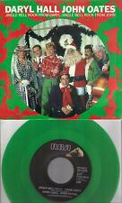 DARYL HALL & JOHN OATES  Jingle Bell Rock  promo green vinyl 45 with PicSleeve