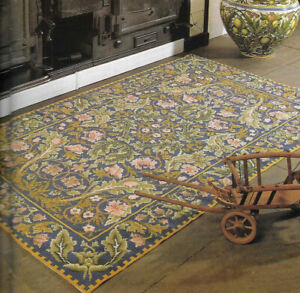 Acanthus Rug Beth Russell Needlework Tapestry Needlepoint Chart