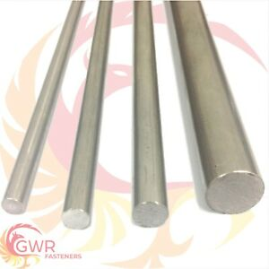 """303 Stainless Steel Round Bar Rod - 4mm 5mm 6mm 1/4"""" 8mm 3/8"""" 1/2"""" 16mm 20mm 1"""""""