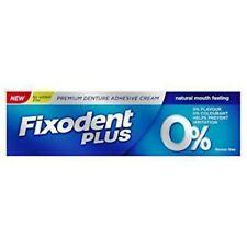 Fixodent Plus ZERO 0% PERCENT Denture Adhesive Cream - 40 g