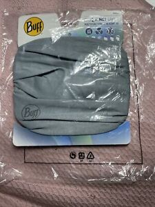 New Buff Coolnet UV+ Multifunctional Headwear Headband Gray outdoor Adult…BB