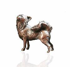 Bird Bronze Sculpture - Chihuahua Dog - Limited Edition. Michael Simpson.