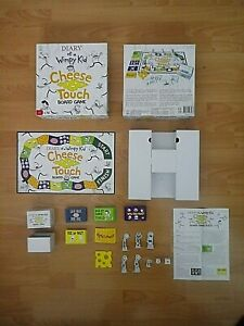 Diary Of A Wimpy Kid Cheese And Touch Board Game - 2012 - Complete