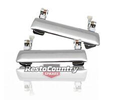 Holden Outer Door Handle REAR LEFT + RIGHT Chrome Torana LC LJ x2