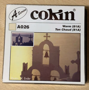 Cokin A026 Warm Up 81A Filter Brand New