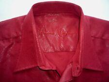 "Versace XL / 17.5"" / 44cm Mens ShirtChest 51"" Long Sleeve Single Cuff Cotton"