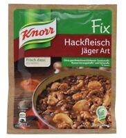 12 x KNORR FIX HACKFLEISCH JAEGER ART - GERMAN COOKING - ORIGINAL FROM GERMANY
