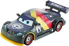 Disney Pixar DHM77 Cars Max Schnell Carbon Racers Series Car Vehicle 1 55