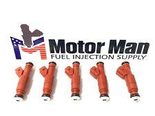 Motor Man - Bosch Fuel Injector Set 0280155759 94545560 Volvo 2.3L 2.4L 5CYL