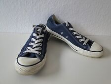 Converse All Star Chucks Sneaker Turnschuhe Slim Low Stoff Blau Gr. 6 / 39