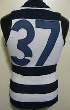 Vintage 1980s VFL Geelong Brandella Football Guernsey Jumper Jersey #37