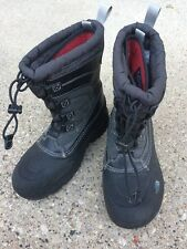 NORTH FACE ALPENGLOW LACE BOOT - black - US size 4 big kid / EU 36