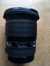 Sigma 20mm f/1.8 EX DG for Canon Perfect Condition with caps, hood and case
