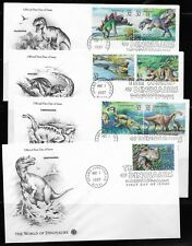 US Scott #3136A-O, First Day Covers 5/1/97 Grand Junction Single/Pair Dinosaurs
