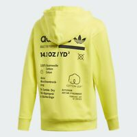 Men's adidas Kaval Hoodie Yellow Medium NWT DQ1062 New Limited $90 Retail