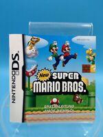 jeu video notice BE nintendo DS FHG new super mario bros