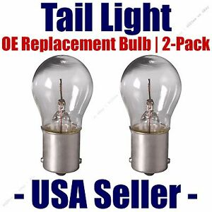 Parking Light Bulb 2-pack OE Replacement Fits Listed Cadillac Vehicles 1156