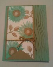 Stampin up card making kit - Painted Harvest - Mint Macaroon