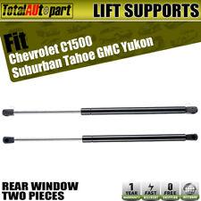 2x Rear Window Lift Support Strut for Chevy C1500 Suburban GMC Yukon 1995-1999