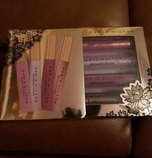 Paris Hilton Lip Wonderland 4 Lip Gloss & Lipstick set collection