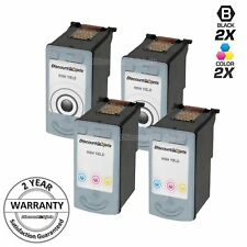 4 PG-50 CL-51 PG50 HY Black & Color Printer Ink Cartridge for Canon PIXMA MP160