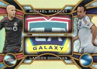2014 Topps Chrome Major League Soccer 'One-Two' Gold Parallel /50 - You Pick