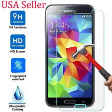 9H Tempered Glass Screen Protector Cover for Samsung Galaxy S5 Mini USA