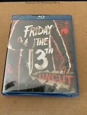 Friday The 13th 1980 Region Free Uncut Unrated Blu Ray US Import NEW & SEALED