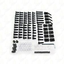 Fairing Bolt Kit Body Screws  For Kawasaki Ninja 250R 300 650 ZX10R Black