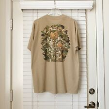 Vintage Camel Joe Camouflage Camo Pocket T Shirt 90s VTG raptee XL USA