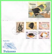 Benin Republic 1996 Fish set & mini sheet on two First Day Covers