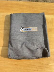 Thundershirt Dog XL 65 - 110 lbs Gray Solution Anxiety Thunder Fireworks Travel