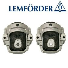 NEW Audi Q5 09-12 Pair Set of Front Left and Right Engine Mounts OEM Lemforder