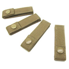 Condor Modular MOLLE Straps -223 - 4in - 4 Pack Coyote Tan - NEW