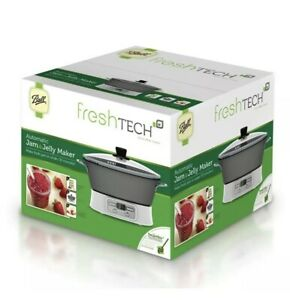 Ball FreshTECH Automatic Jam and Jelly Maker FTJM-12-01-SEALED!-Ships FAST!
