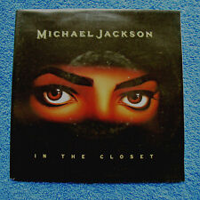 "Michael Jackson In the Closet Unplayed Dutch 7"" single"