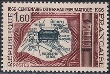 Francia / France. 1966. 1,60 Francs. Reseau Pneumatique (Nuevo/New)