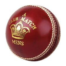 6x Readers Club Match A Mens Dark Red Cricket Balls Size 5.5oz