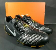 NEW Nike Total 90 Shoot II FG Soccer Cleats Black/Silver 318887-007 Size 11