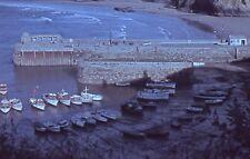 Original 35mm Slide 1962 Harbour Scene & Boats, Newquay Cornwall UK