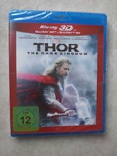 Thor: The Dark Kingdom 3D/2D Edition (Blu-ray Video)