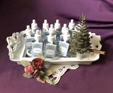 ~Rare Set of 10 Bath & Body Works ~ Woodland ~ Wallflower Refill Bulbs & Plug~