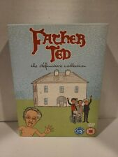 FATHER TED THE DEFINITIVE COLLECTION DVD COMPLETE SERIES 1 2 3 Region 2 DVD