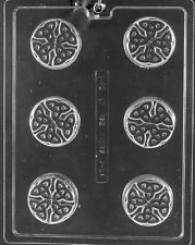 P031 Celtic Cookie Chocolate Candy Soap Mold with Instructions